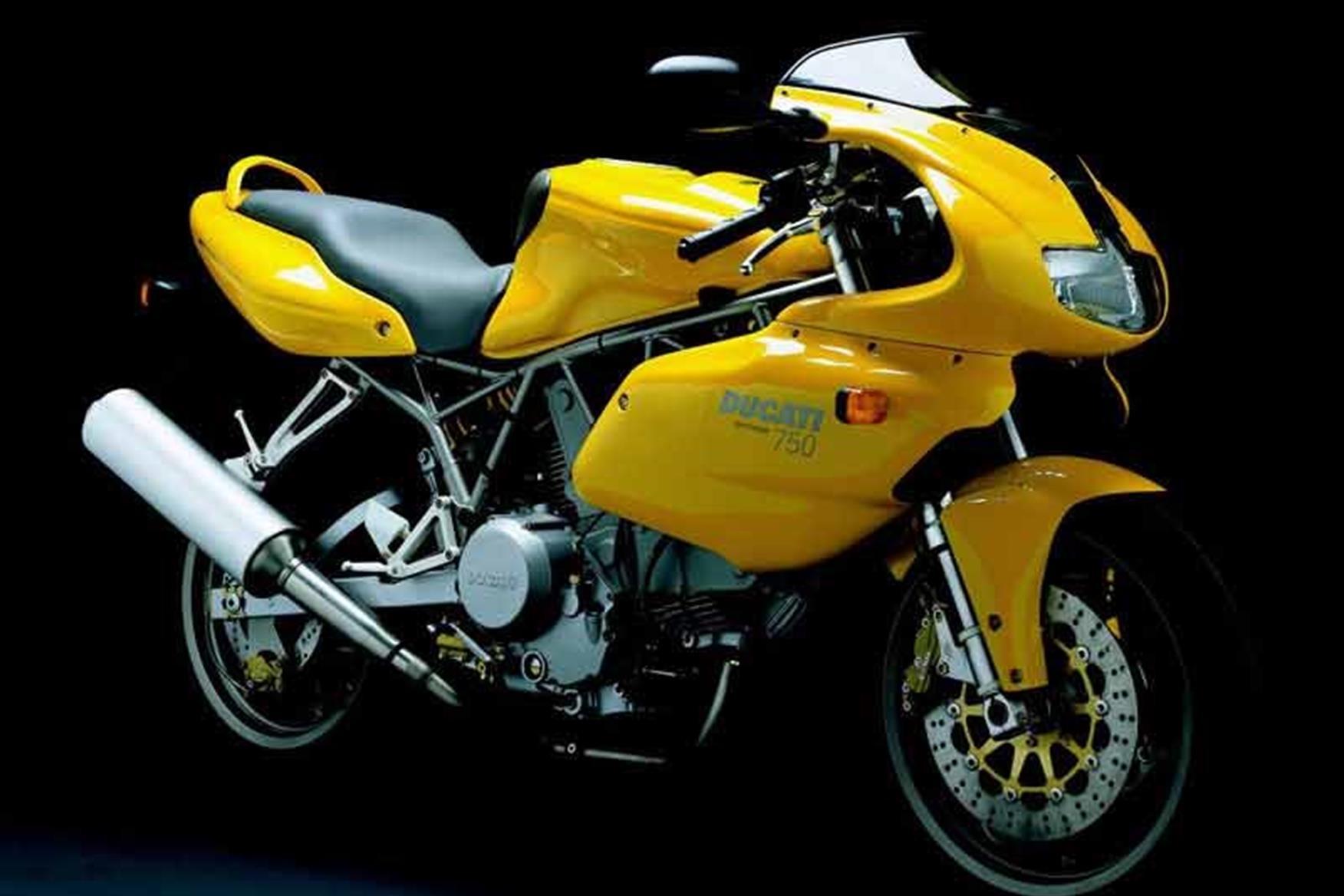 Ducati autocollant-ss 600 nuda