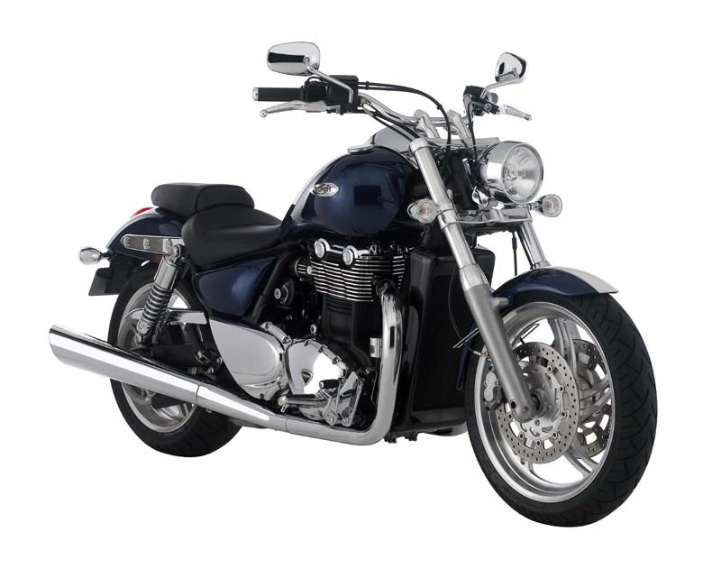 Triumph Thunderbird 1700 2009 On Motorcycle Review Mcn
