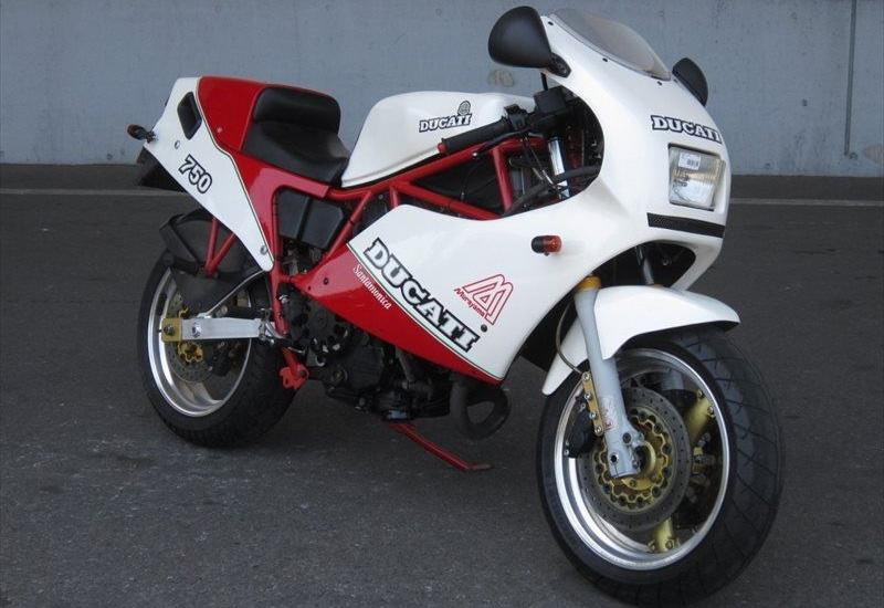 bike of the day: ducati 750 f1 santamonica | mcn