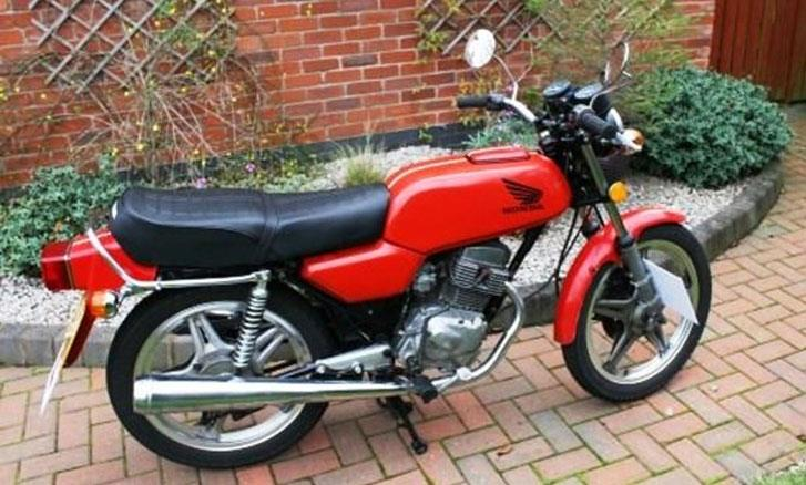 bike of the day 1980 honda cb125 twin. Black Bedroom Furniture Sets. Home Design Ideas