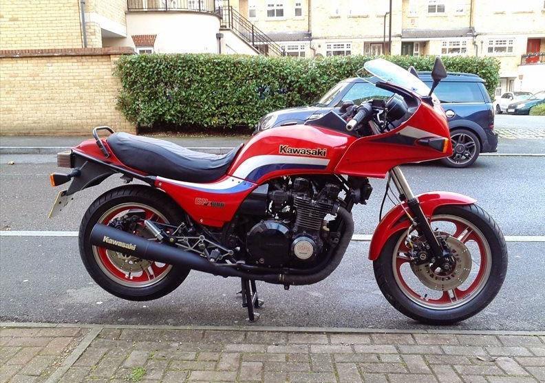 Bike of the Day: 1983 Kawasaki GPz1100 Unitrak   MCN