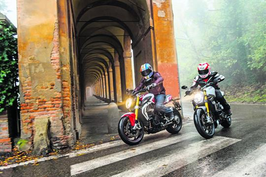 Two Way Street MV Brutale 800 RR Vs Ducati Monster 1200S