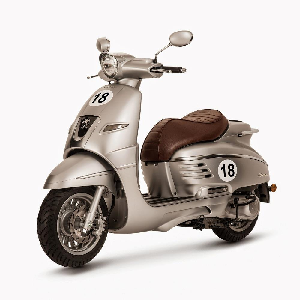 peugeot django scooter gets power boost mcn. Black Bedroom Furniture Sets. Home Design Ideas