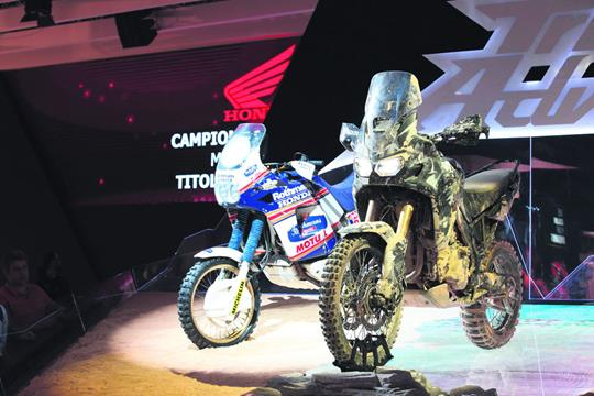 Secrets of the new Africa Twin