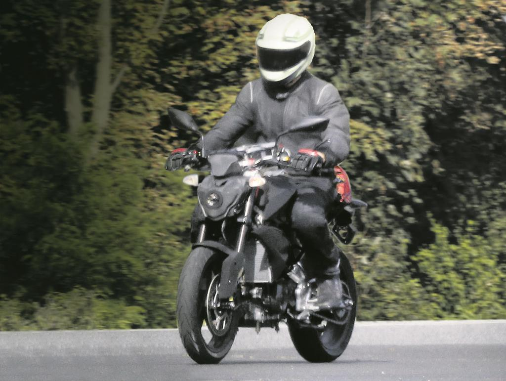 300cc TVS BMW K03 motorcycle spotted testing | Shifting-Gears