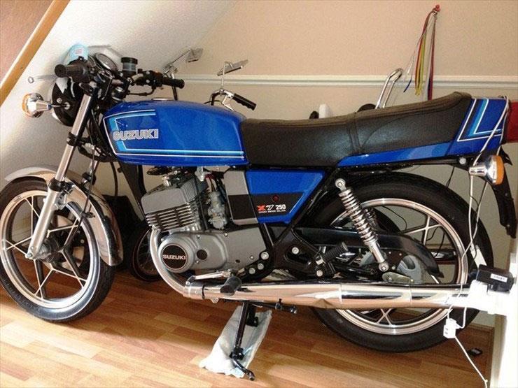 Bike Of The Day 1979 Suzuki X7 Mcn