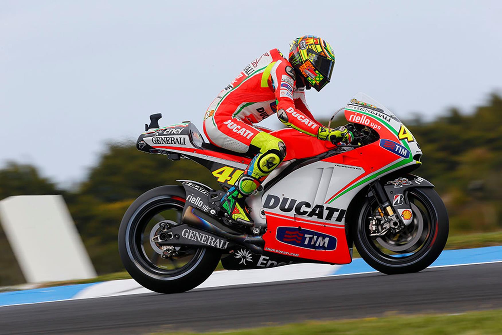 Valentino Rossi: Ducati threat depends on new bike | MCN