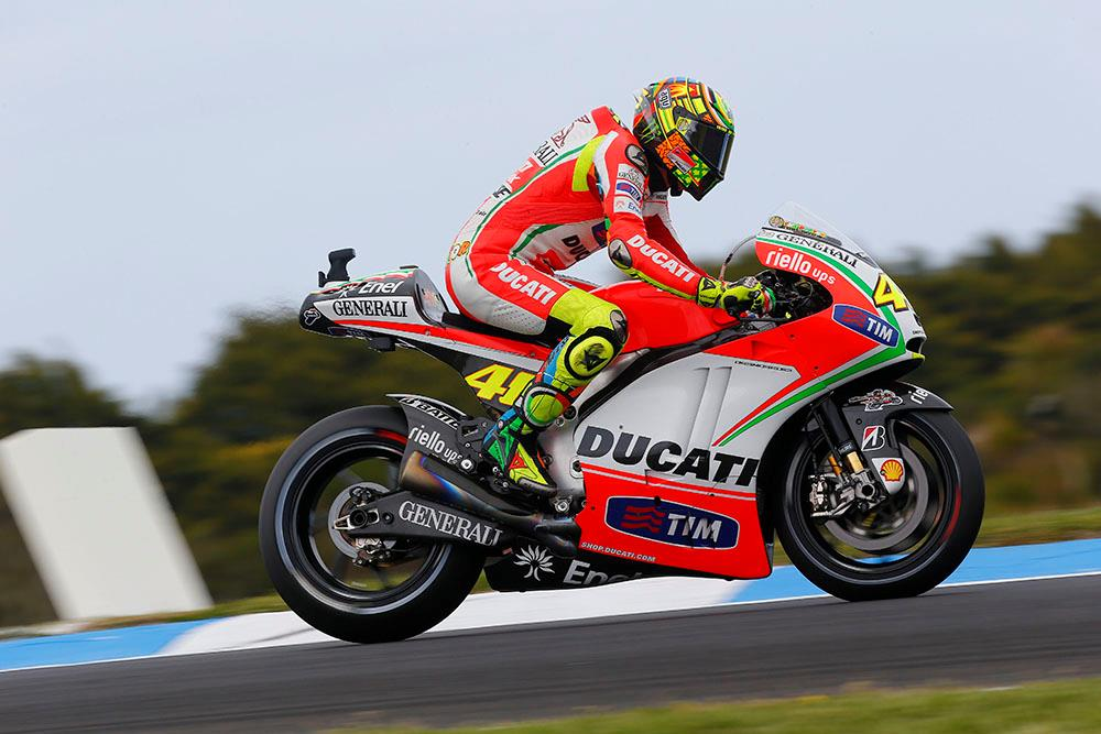 Valentino Rossi Ducati Threat Depends On New Bike