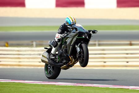 World First Test Kawasaki Ninja H2