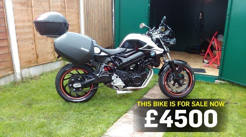 Bike Of The Day Bmw F800r Mcn