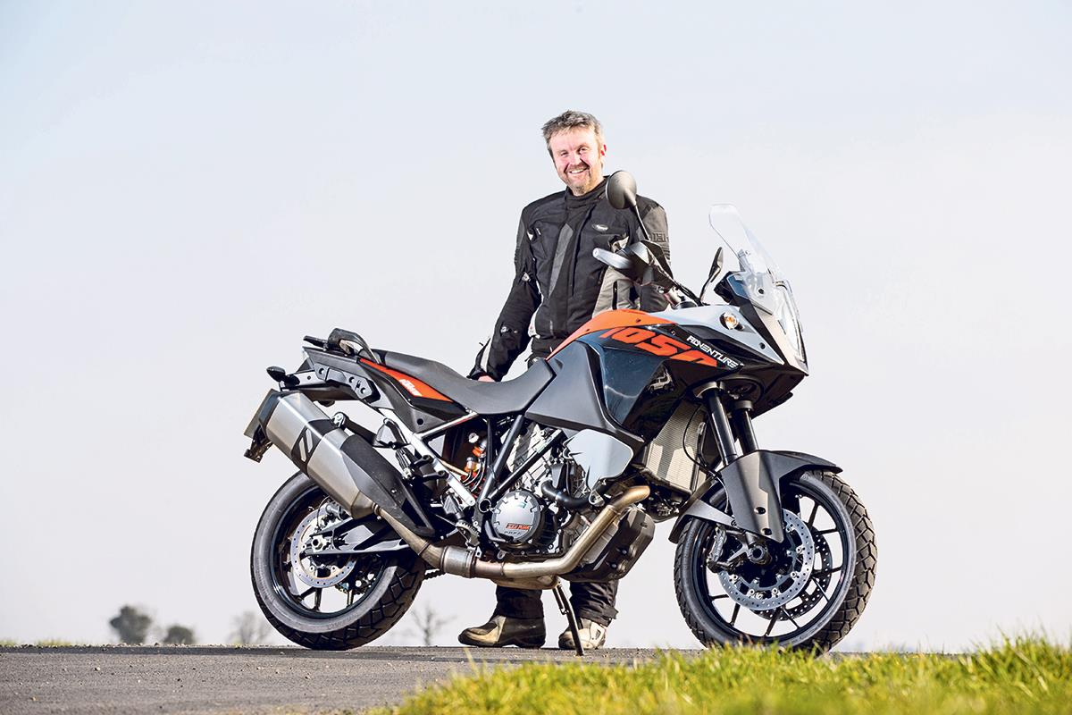 5 things I've learnt in my first week with a KTM 1050 ...