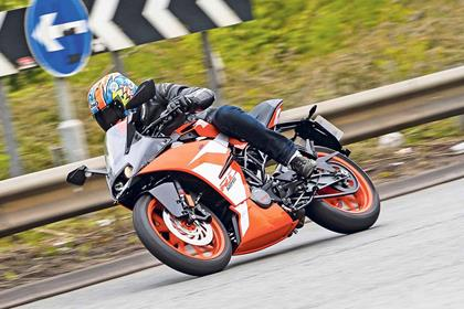 The 2017 KTM RC125 is bags of fun