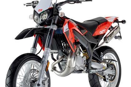 Aprilia SX50 studio shot front three quarter