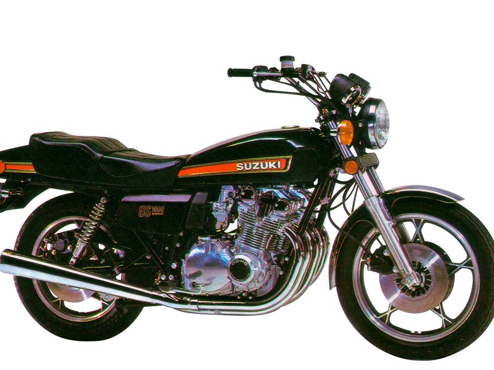 GS1000 suzuki's first ever litre bike the gs1000 engine stripped 1978 gs750 wiring diagram at mifinder.co