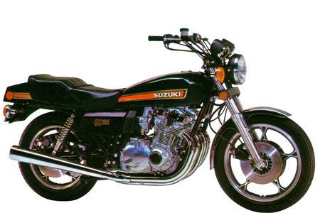 Suzuki's first ever litre bike: The GS1000 engine stripped