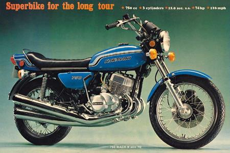 Evil, wicked, mean and nasty': the bikes that got Kawasaki