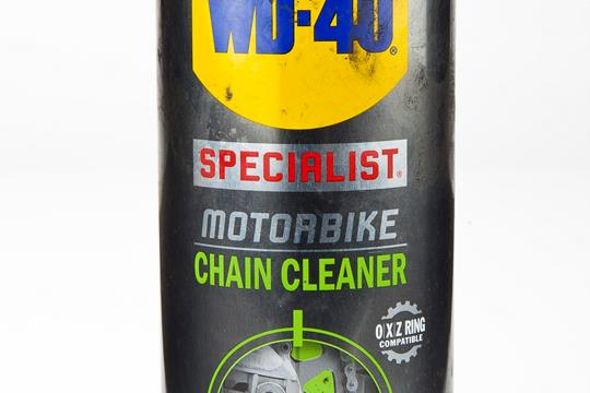 Product Review: WD40 Chain Cleaner