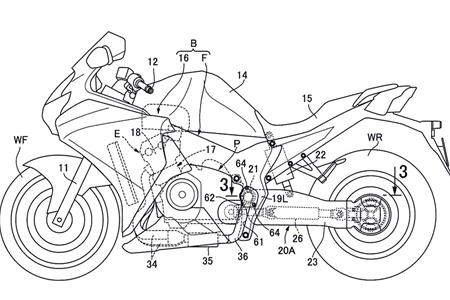 Hondas Exhaustive New Swingarm Spied