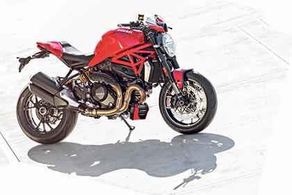 Ducati Monster 1200 R static side profile