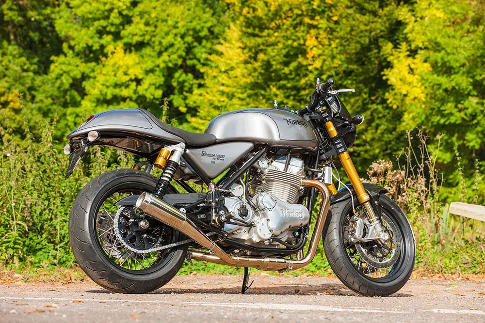 Norton Cafe Racer Review