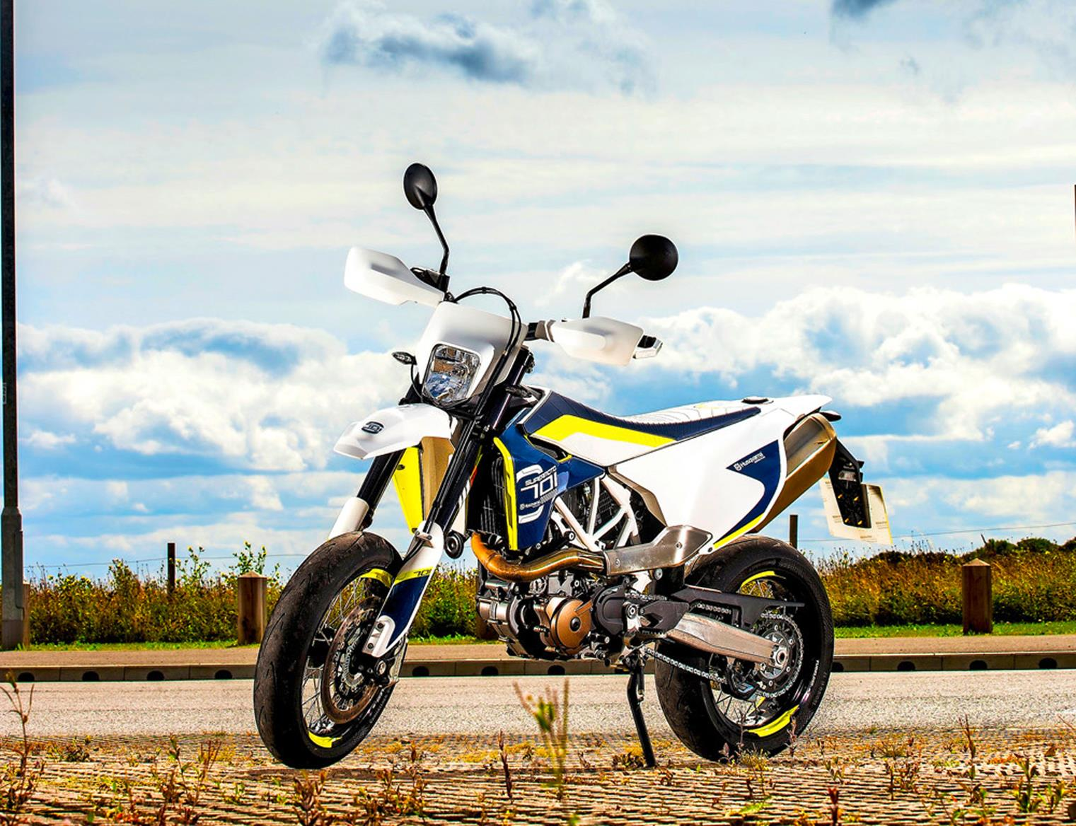 Husqvarna 701 Supermoto 2015 On Motorcycle Review Mcn