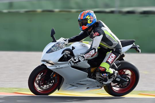 first ride: ducati 959 panigale | mcn