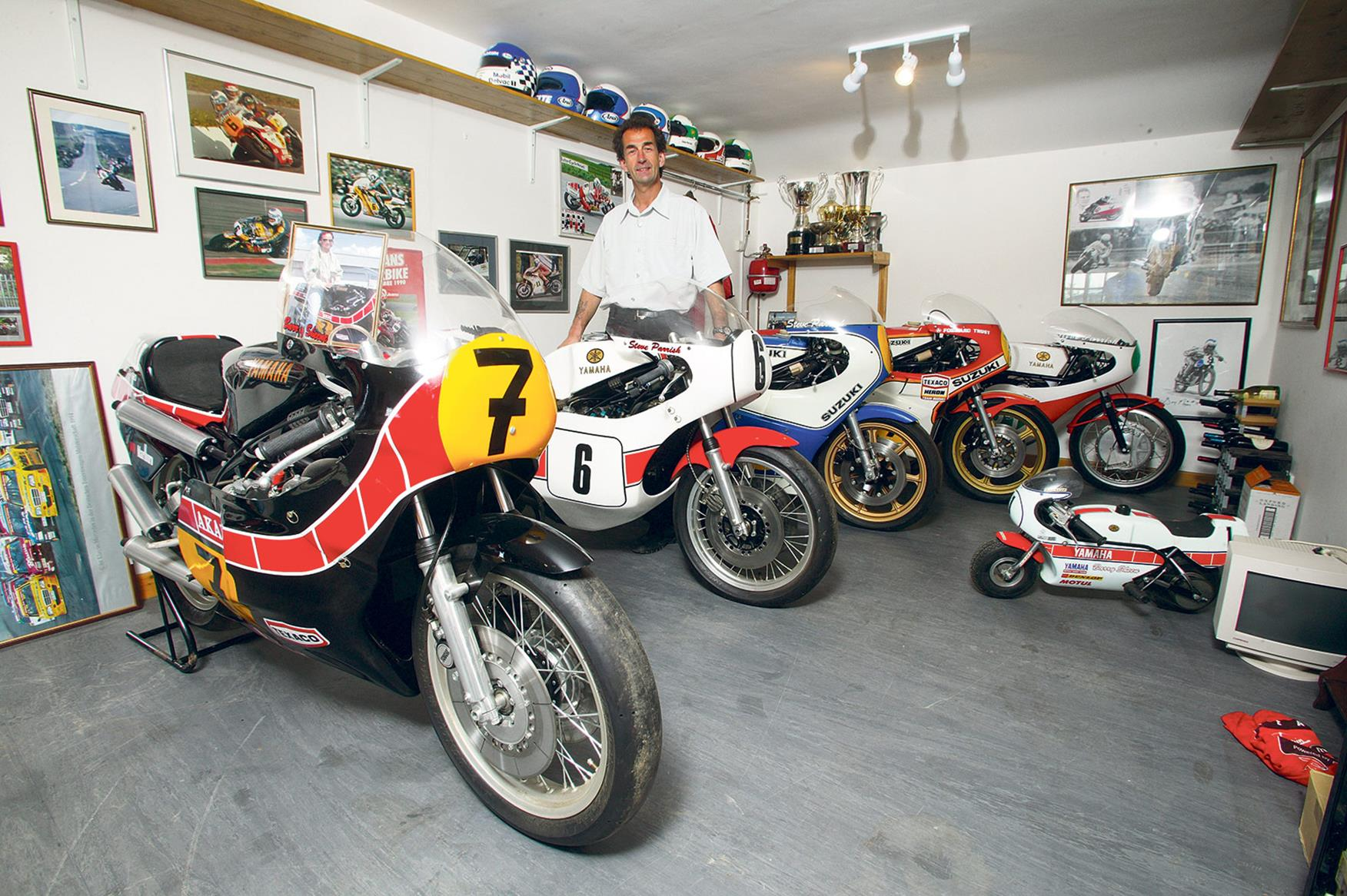 My life in bikes: Steve Parrish