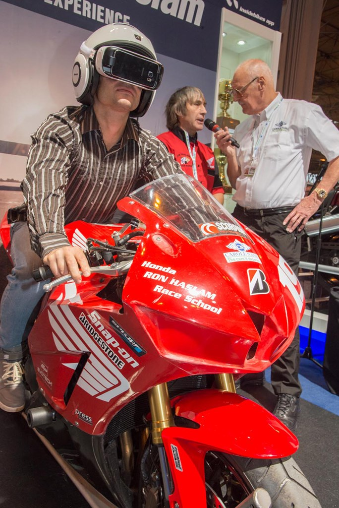 London Motorcycle Show >> Carole Nash reveal track App-iness | MCN