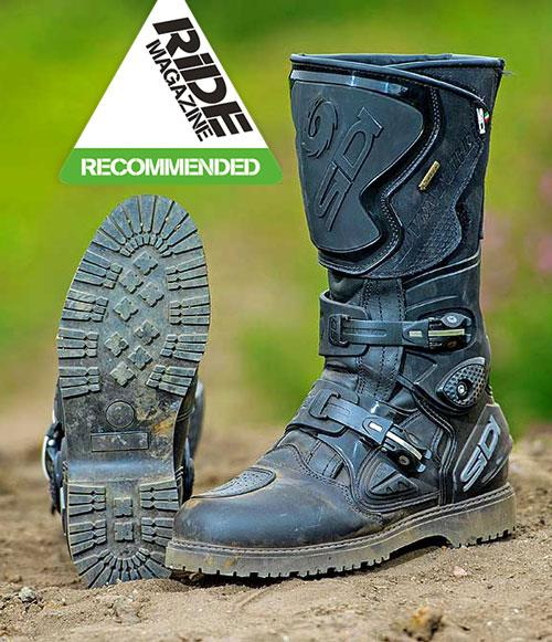 Sidi Adventure Gore Tex Motorcycle Boots Review