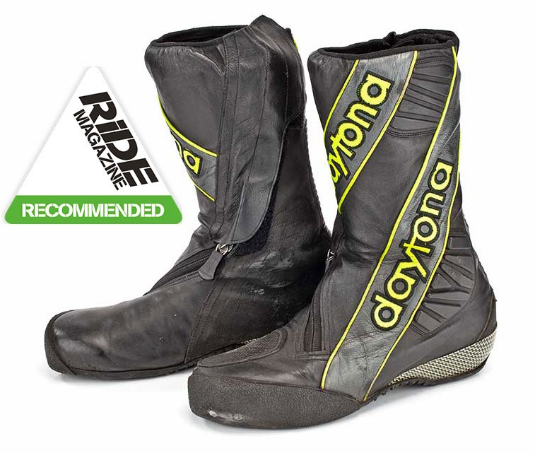 Ride Review Daytona Security Evo 3 Boots