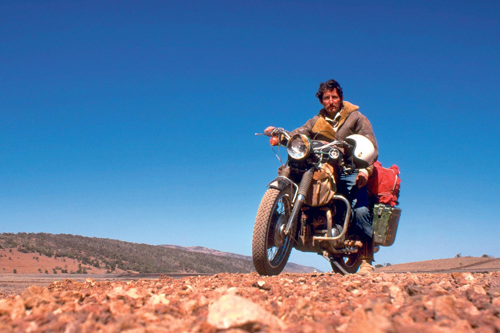 London Motorcycle Show >> Ted Simon: The paperback pioneer | MCN