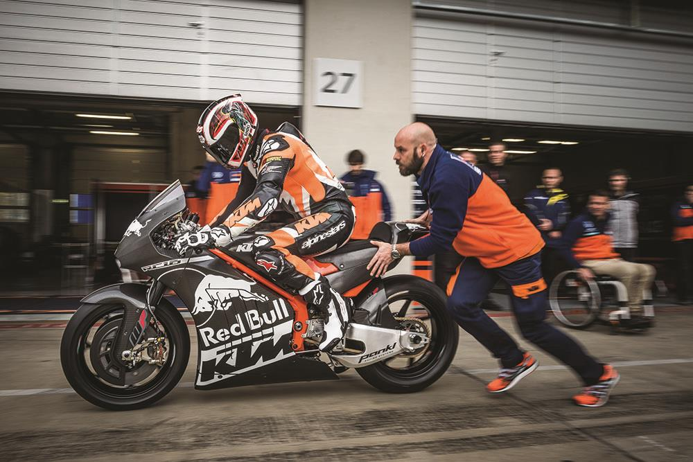 ktm launch fan trip to see new gp bike in action | mcn