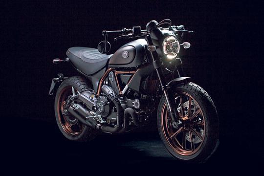 Ducati Scrambler Italia Independent Revealed