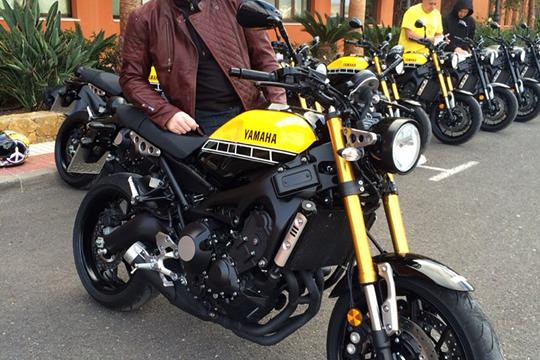 Launch Yamaha XSR900 Ridden
