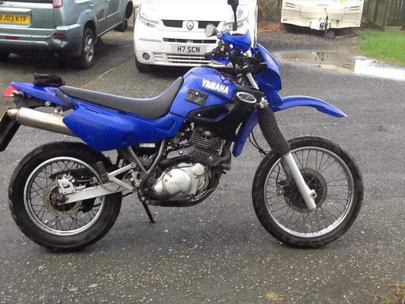Yamaha Dirt Bike Blue Paint