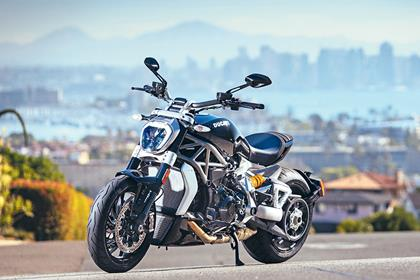 Ducati XDiavel front static