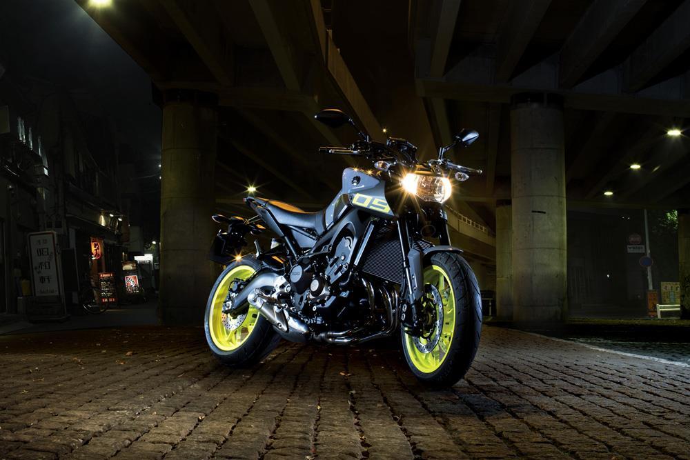 2016 Yamaha MT-09 First Ride Incoming