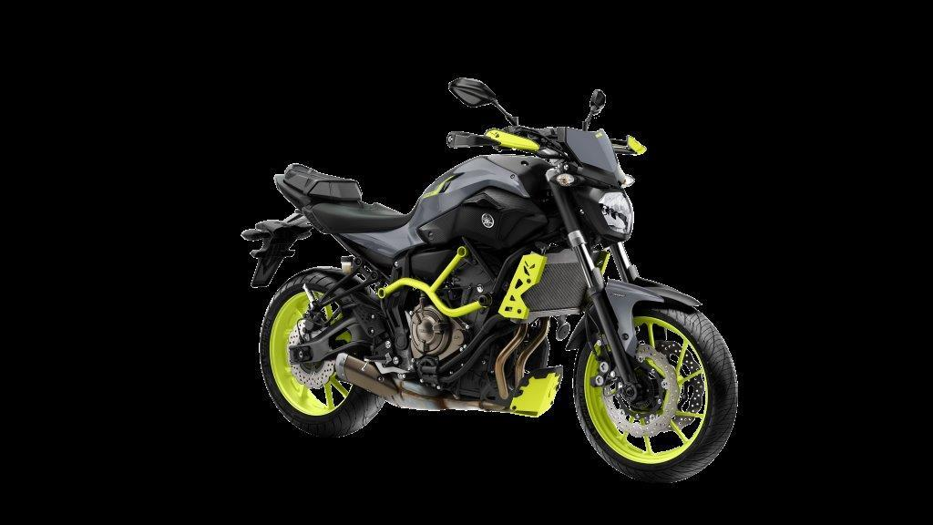 Yamaha MT-07 Moto Cage gets fluoro makeover | MCN