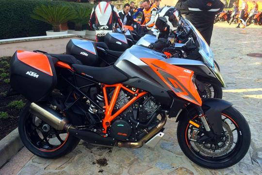 launch: ktm 1290 super duke gt ridden | mcn