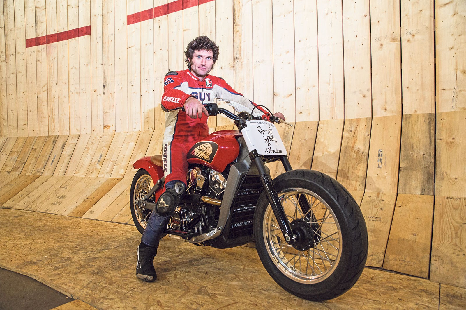 Guy Martin\'s Wall of Death (Part 3) | MCN