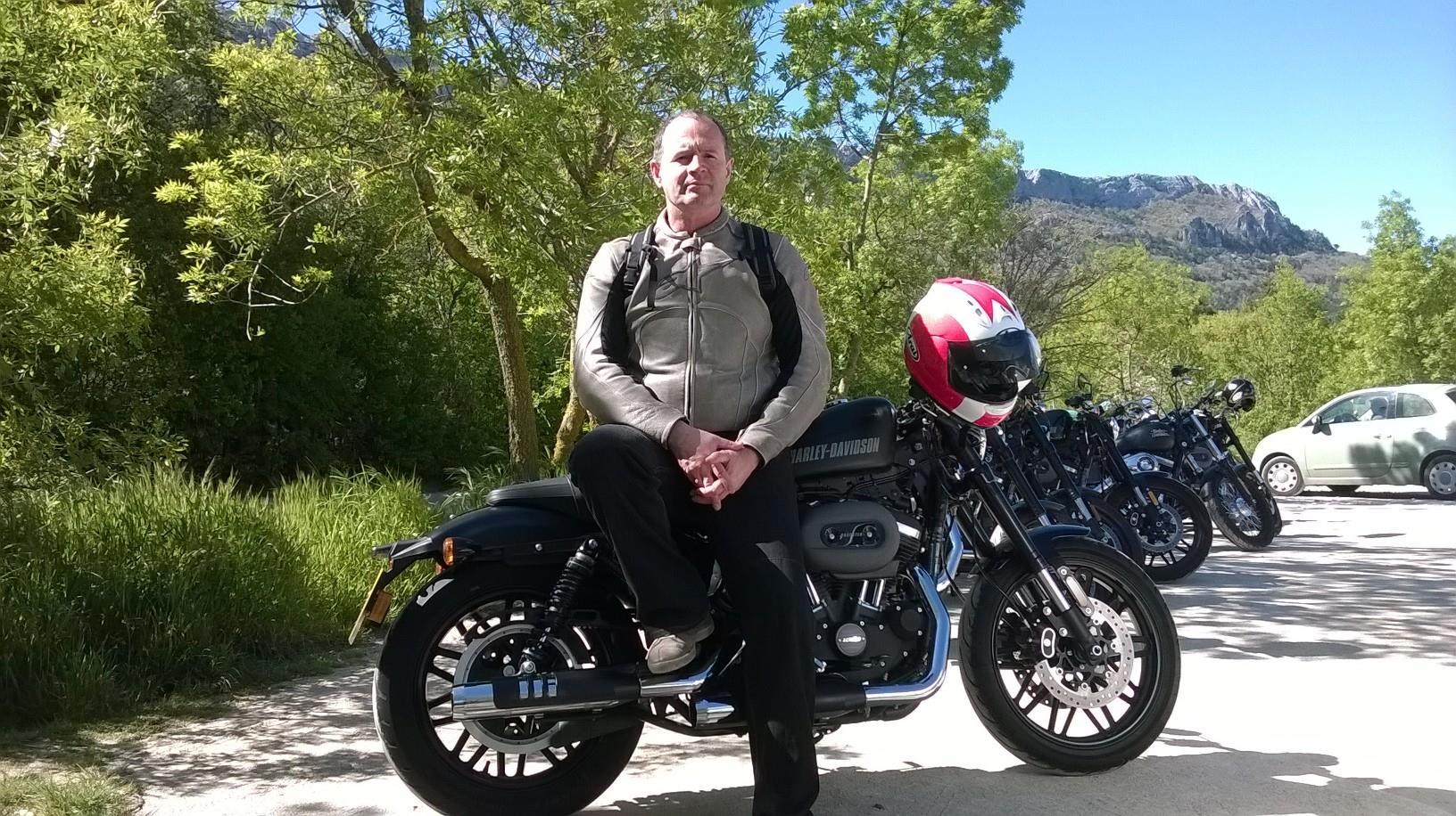 Harley Davidson Roadster First Ride