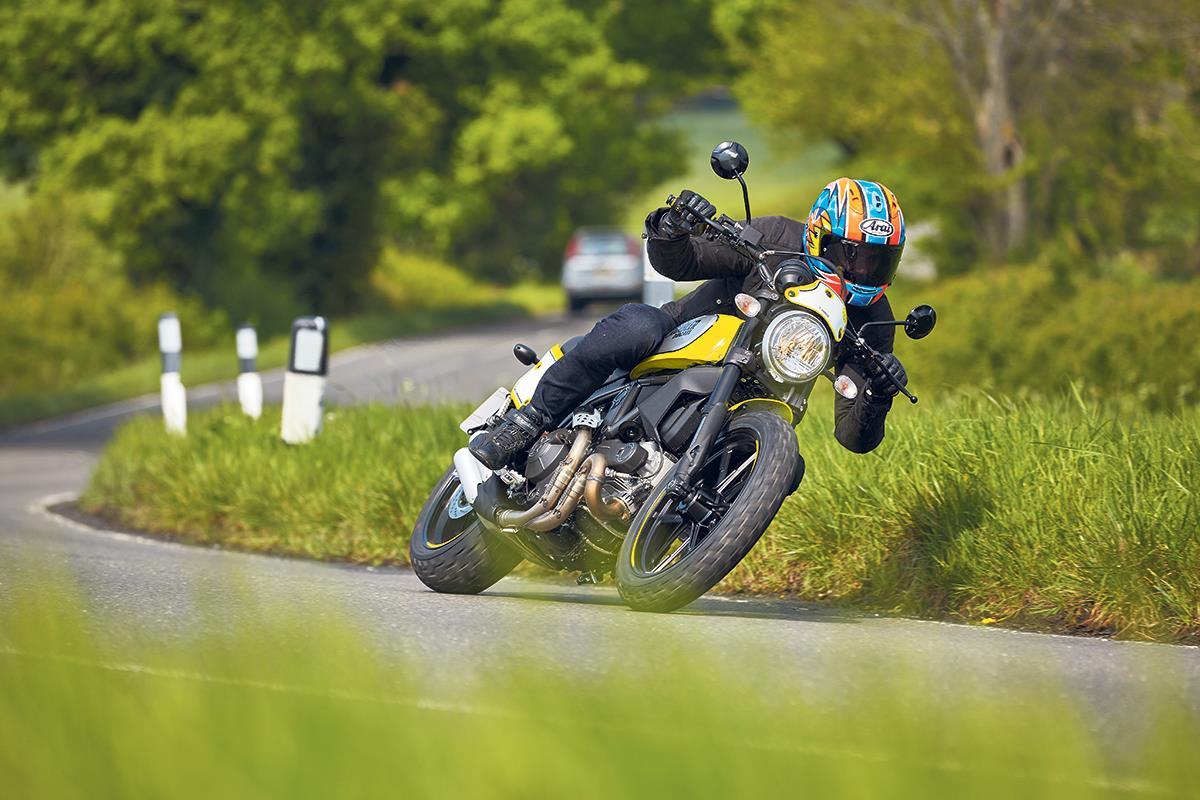 First Ride Ducati Scrambler Flat Track Pro