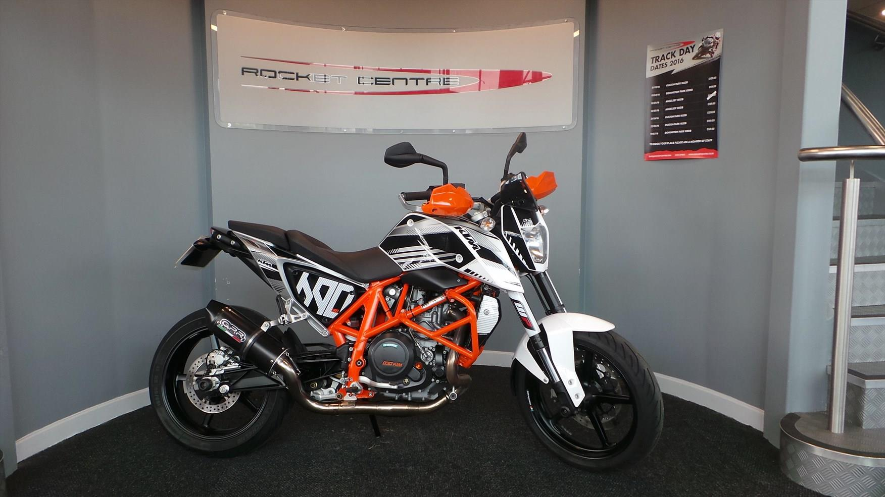bike of the day: ktm 690 duke | mcn