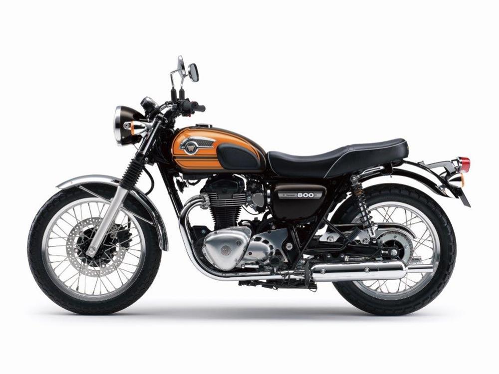 Kawasaki Reveal Final Edition W800