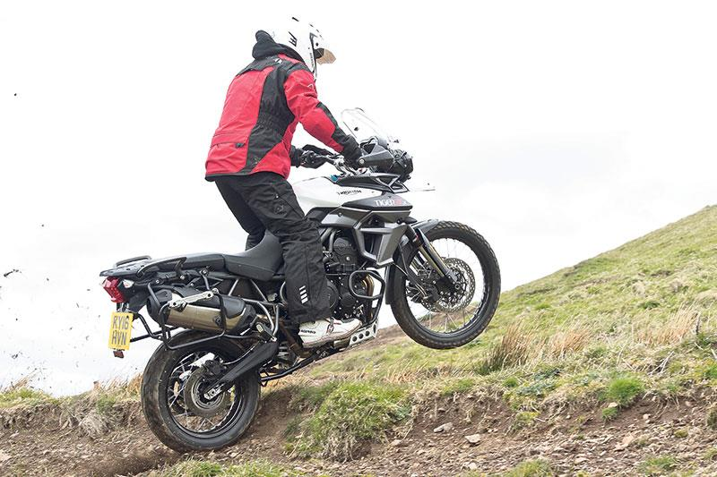 The Africa Twin's Highland fling
