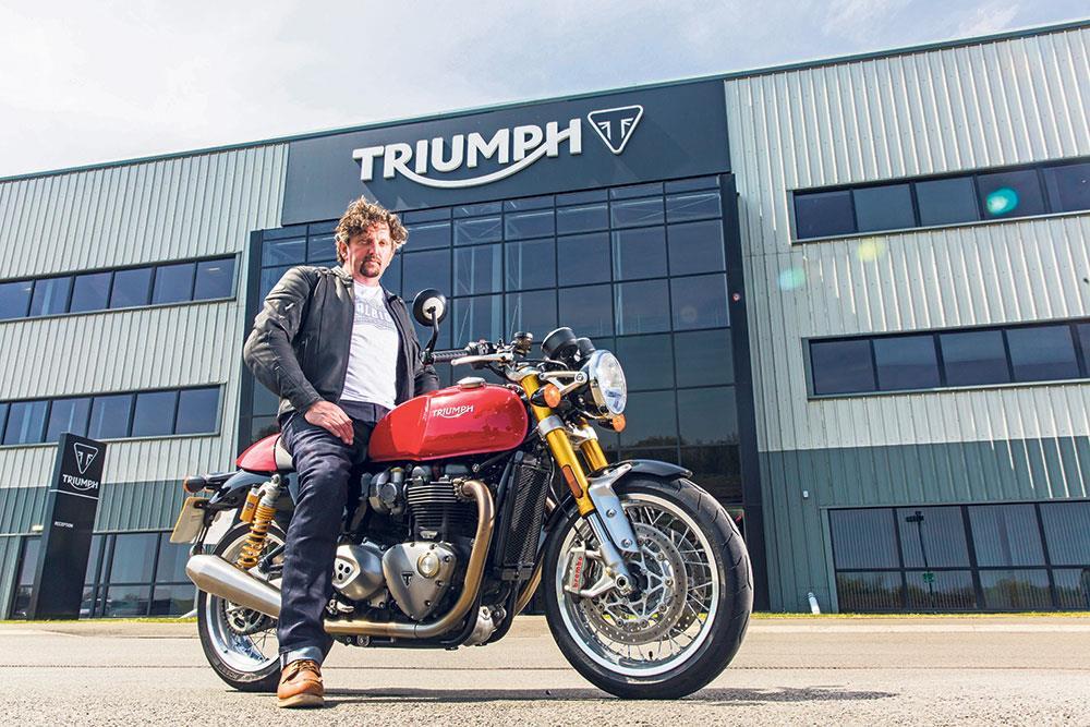 MCN Fleet: Triumph Thruxton R\'s Beauty secrets | MCN