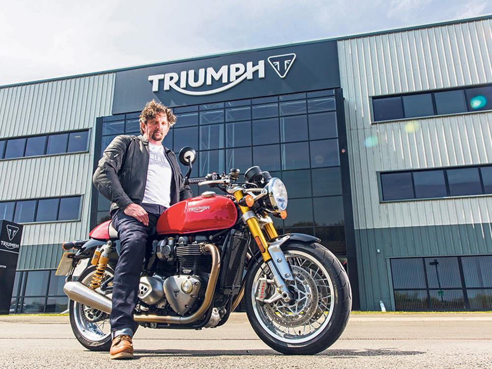 MCN Fleet: Triumph Thruxton R\'s Beauty secrets   MCN