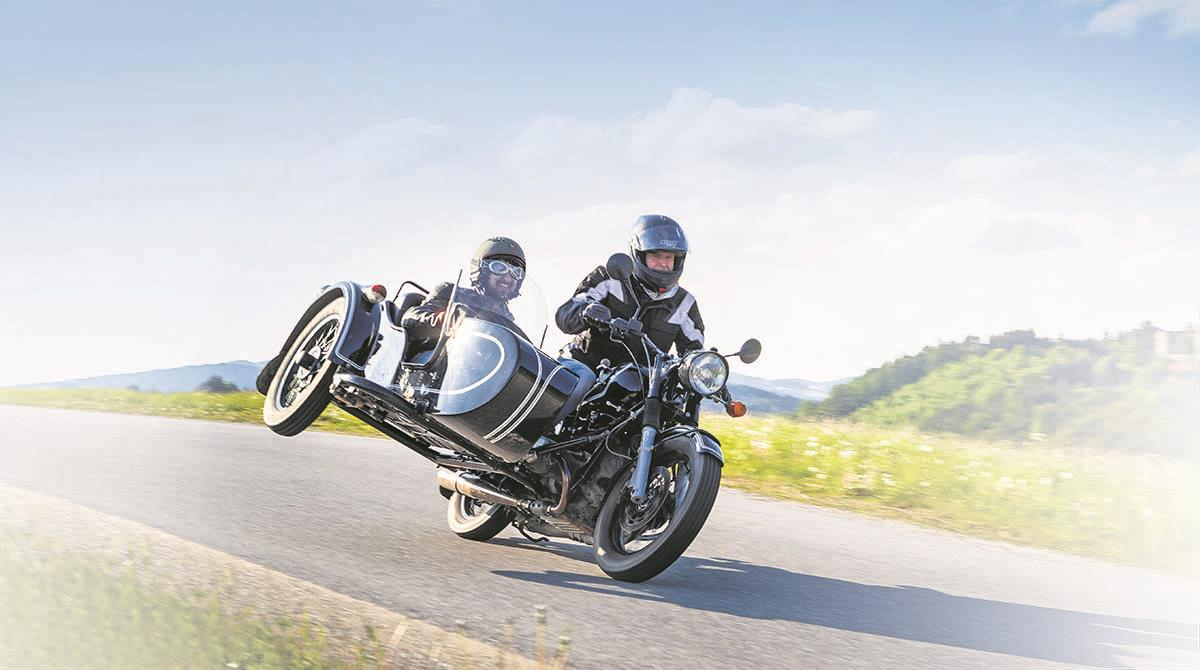 If you can imagine it - someone's doing it! Sidecarcover