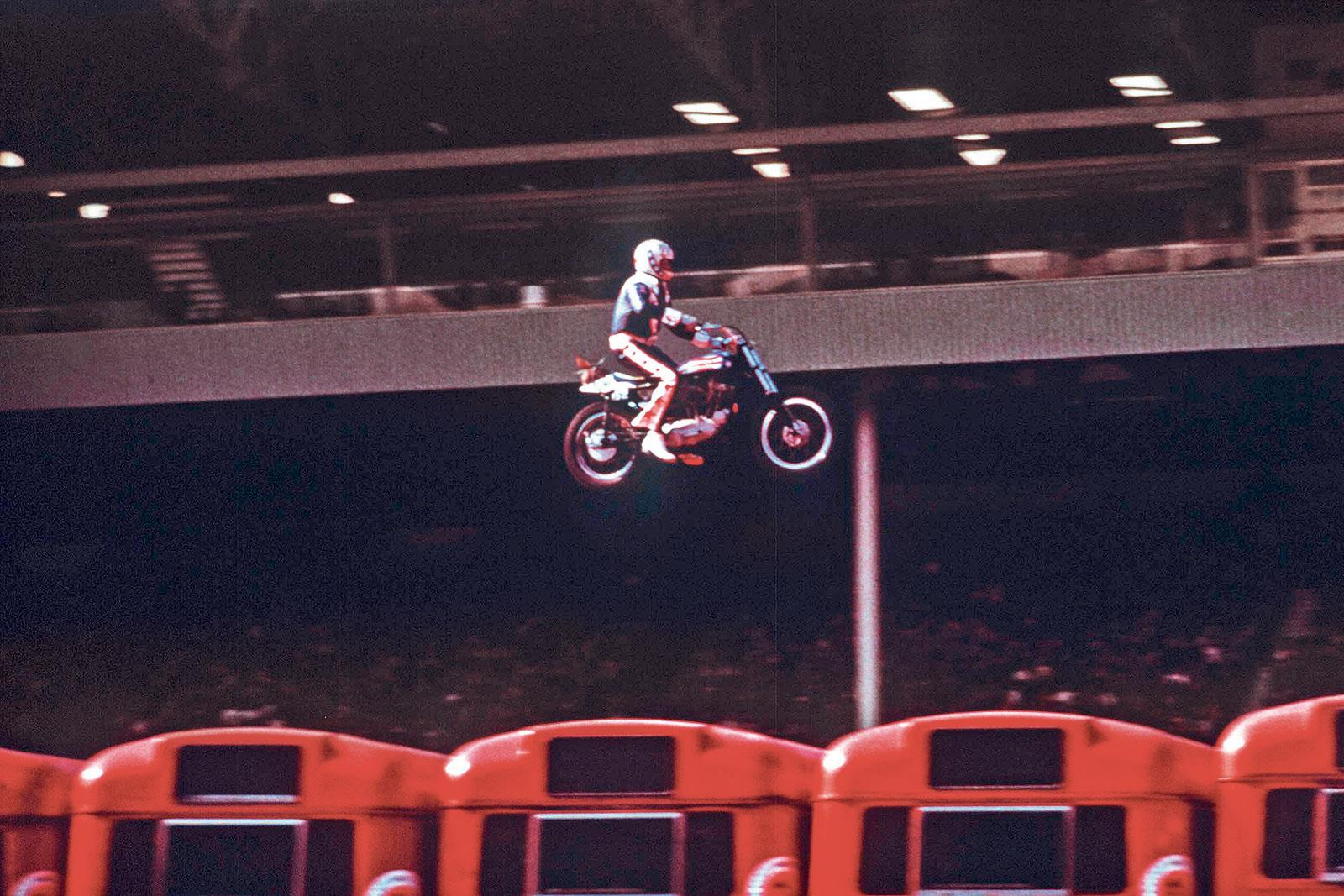 whatever happened to evel knievel s bikes. Black Bedroom Furniture Sets. Home Design Ideas