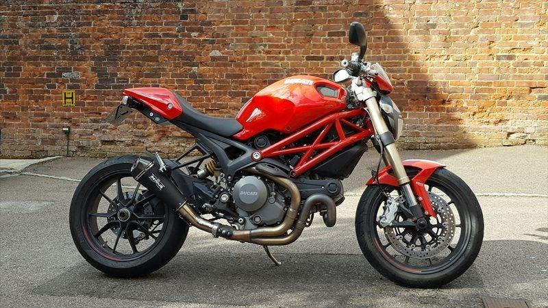 bike of the day: ducati monster 1100 | mcn